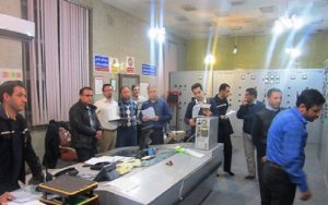 Operation of digital turbine governor of DHTG-300 power plant and static excitation system of SECON-2000 model produced by Hoorpendar company in self-start-up test of Azerbaijan p