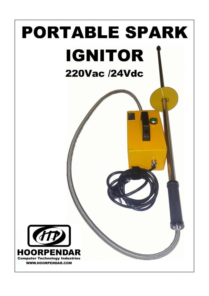 PORTABLE SPARK IGNITOR
