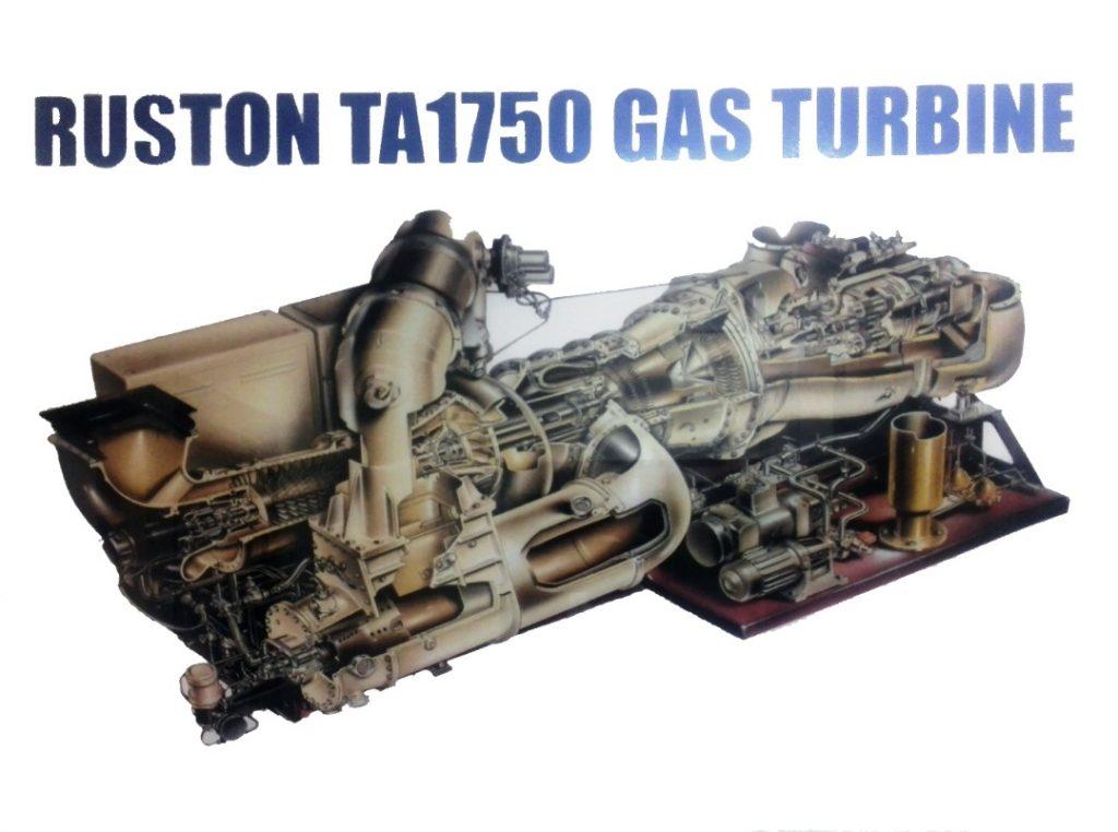Ruston TA1750 Gas Turbine